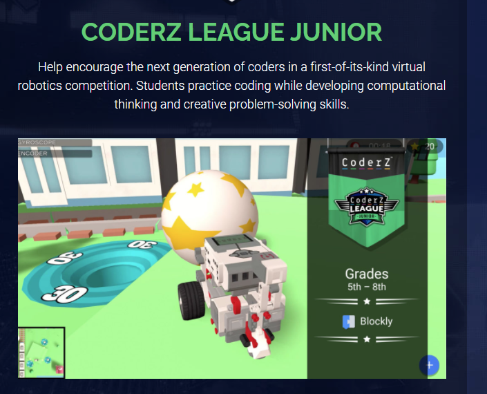 CoderZ Sprint Challenge Coding Competition Update 1