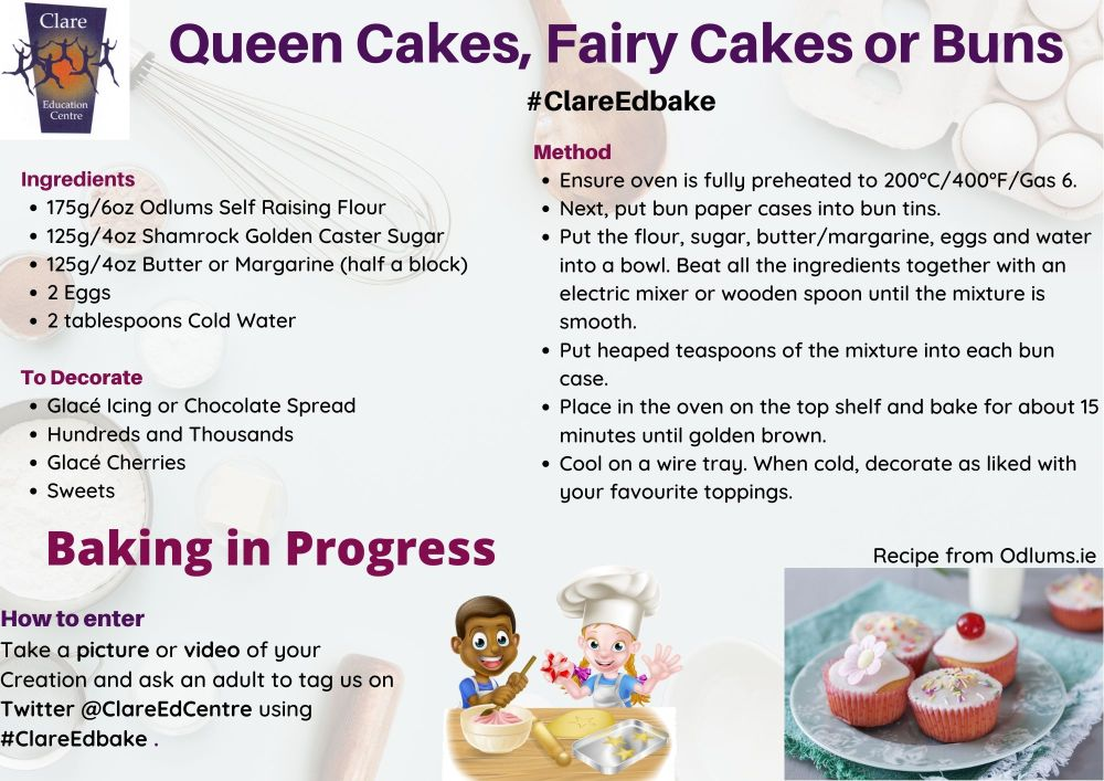 Queen Cakes Fairy Cakes or Buns 1