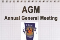 Clare Education Centre Online Annual General Meeting