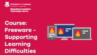 FREEWARE Supporting Learning Difficulties