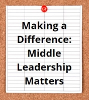 Making a Difference: Middle Leadership Matters